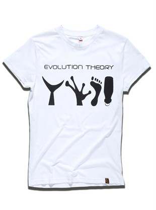 Evolution Theory T-Shirt White